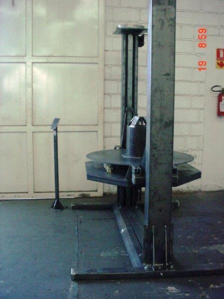 Mesa elevadora inox