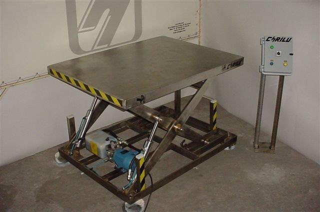 Mesas elevadoras de carga