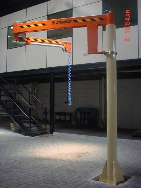 Portico giratorio