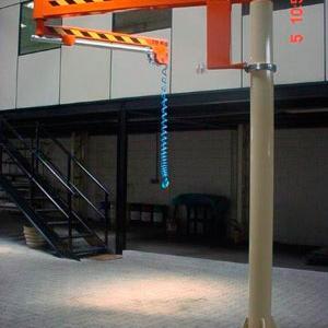 Braço giratorio de coluna