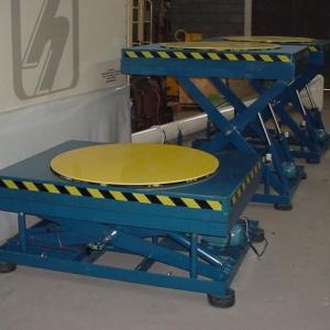 Mesa pantografica hidraulica 1000 kg