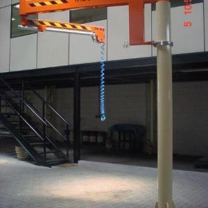 Portico giratorio de coluna